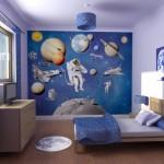 Biru Sebagai Tema Desain Kamar Tidur Anak Laki-Laki Minimalis