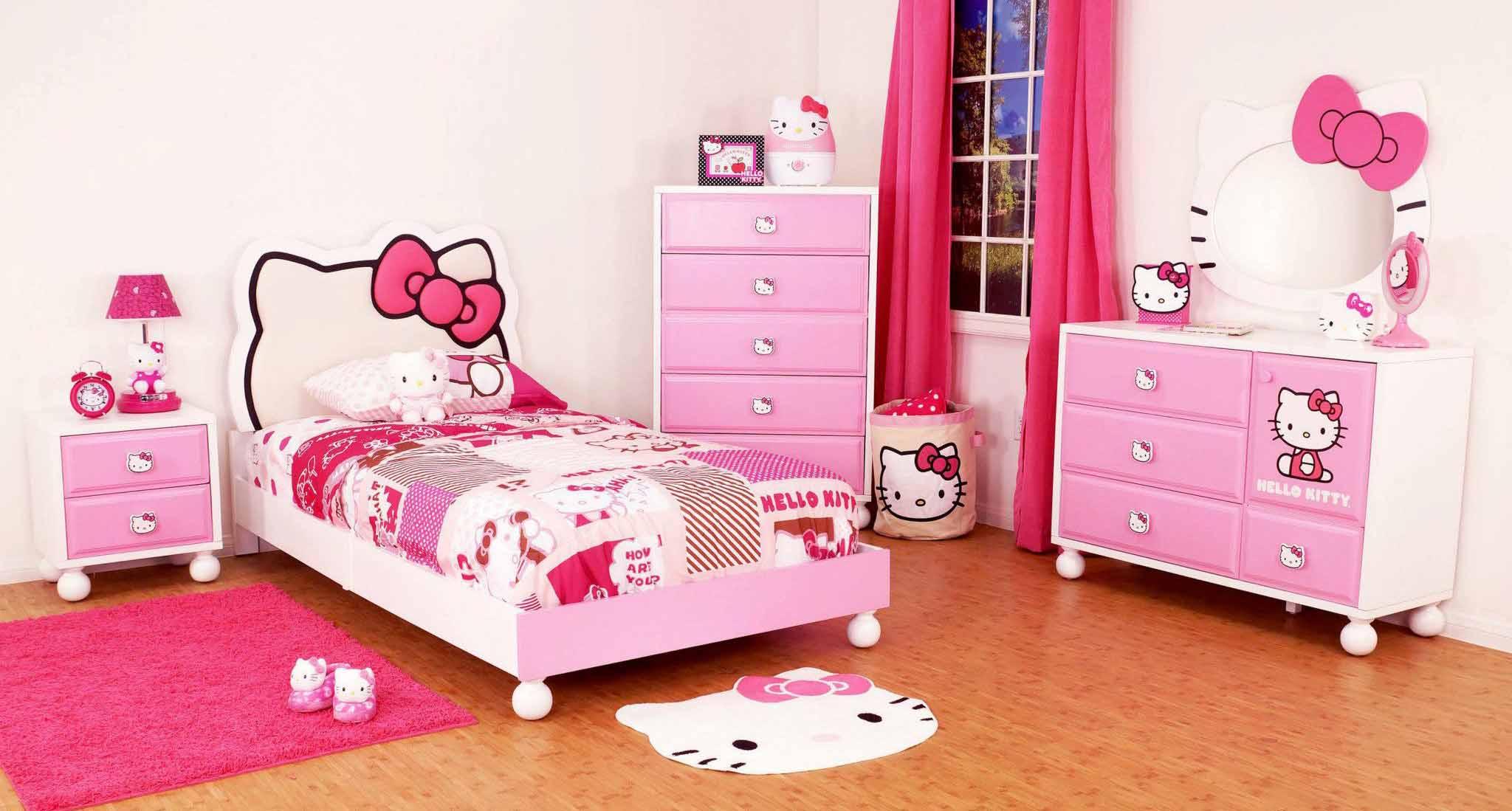 Kamar-Tidur-Serba-Hello-Kitty-Hello-Kitty-Dream-Bedroom
