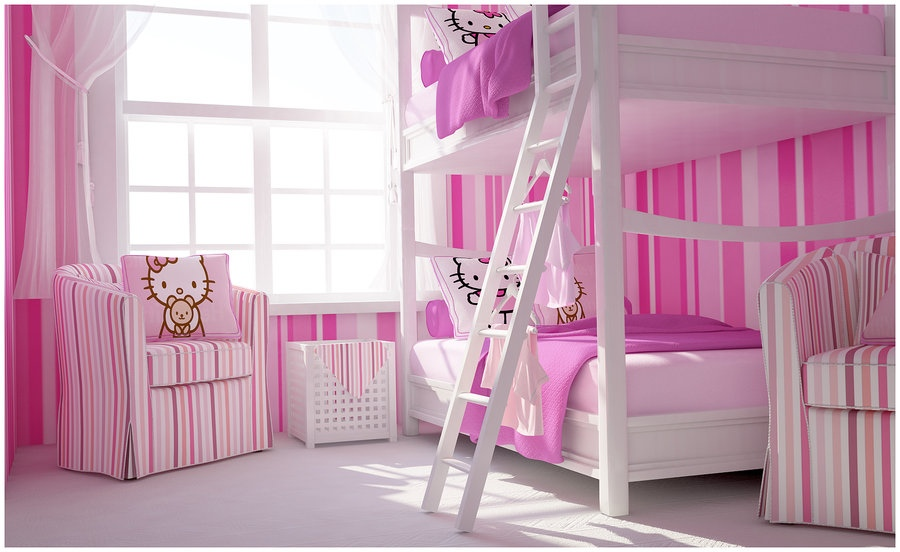 kamar-hello-kitty