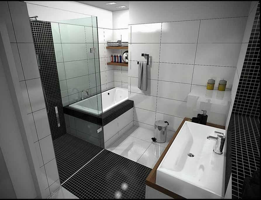 kumpulan desain interior kamar mandi minimalis