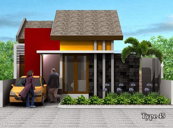 contoh rumah minimalis type 45 enam