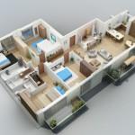 Merencanakan Denah Rumah 5 Kamar Tidur 1 Lantai