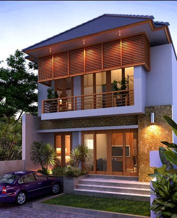 desain rumah minimalis type 120 indah